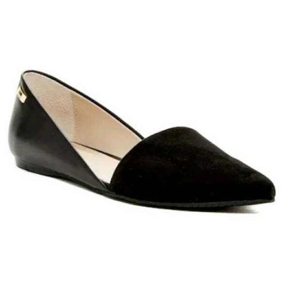 2894551ee8f Calvin Klein Harmonia d  Orsay Flats Shoes 10